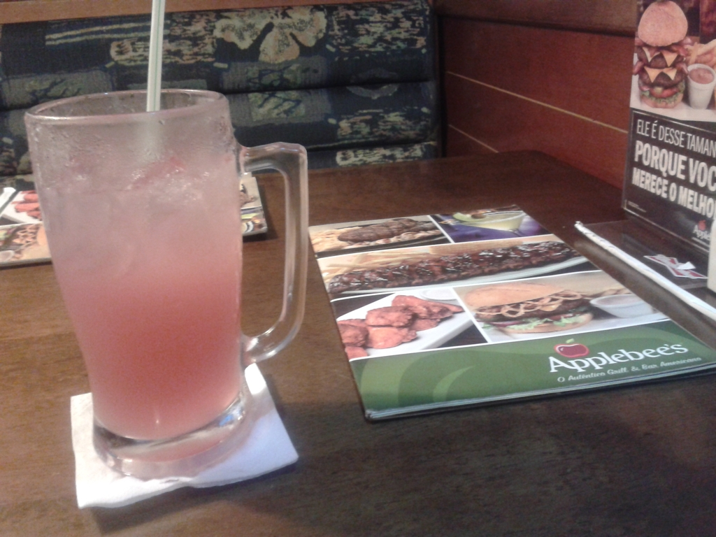 Pink lemonade - Applebees