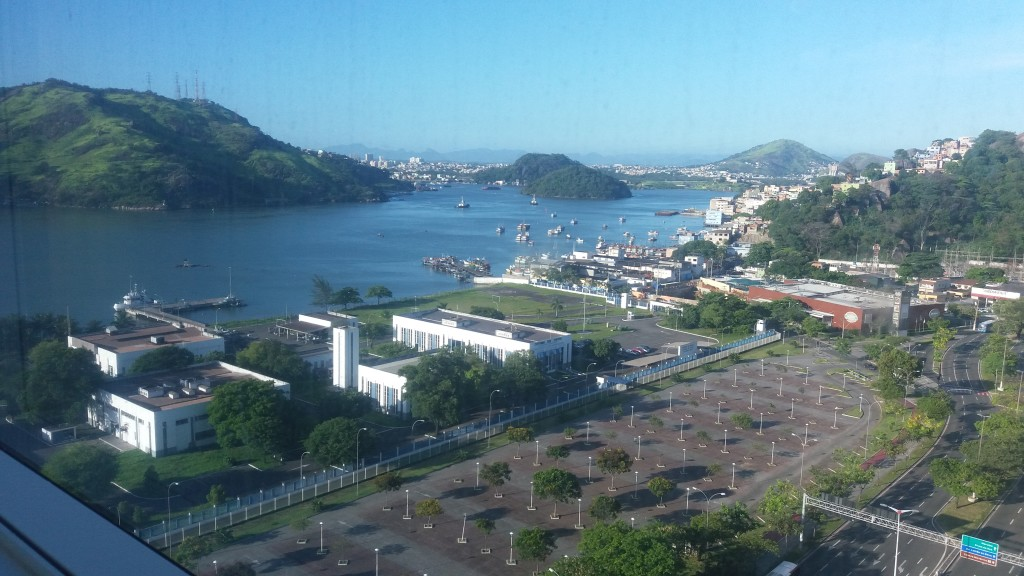 Vista do quarto do Hotel Golden Tulip
