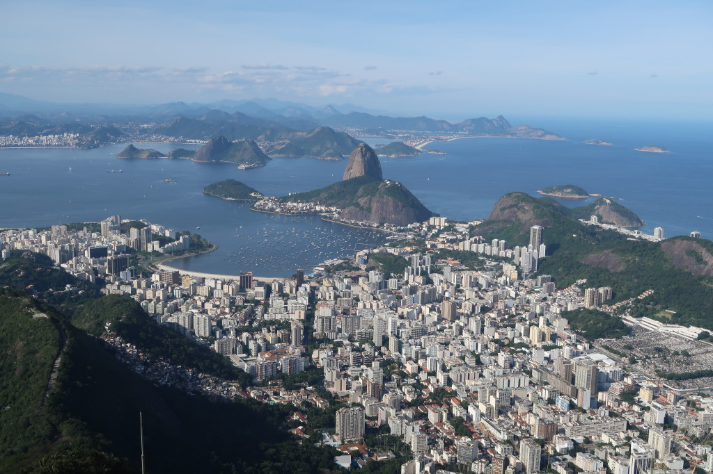 Vista do Cristo Redentor